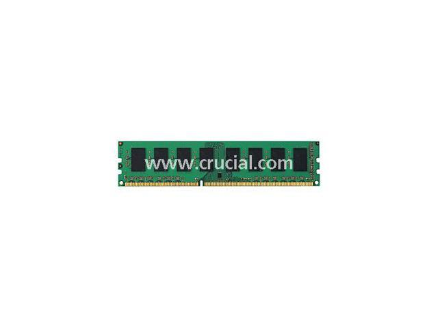 Crucial 2GB (2 x 1GB) 240-Pin DDR3 SDRAM ECC Unbuffered DDR3 1066 (PC3 8500) Dual Channel Kit Server Memory Model CT2KIT12872BA1067