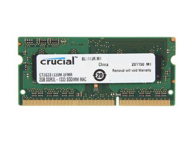 Crucial 2GB DDR3 1333 Memory for Apple Model CT2G3S1339M