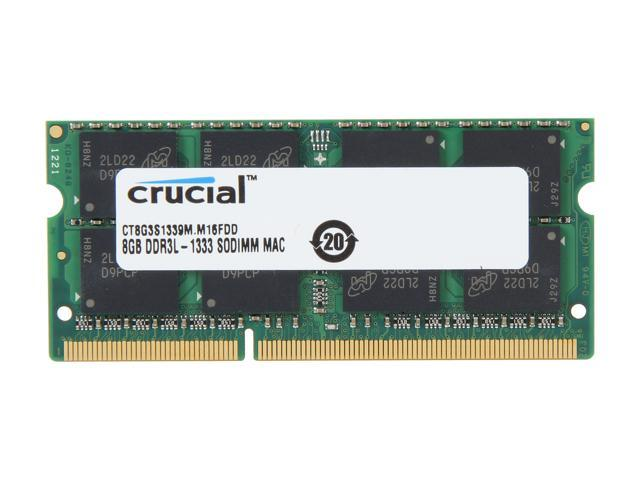 Crucial 8GB DDR3 1333 Memory for Apple Model CT8G3S1339M