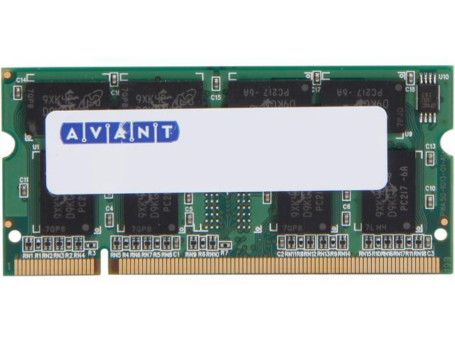 AllComponents 512MB 200-Pin DDR SO-DIMM DDR 266 (PC 2100) Laptop Memory Model ACSO266X64/512 - OEM