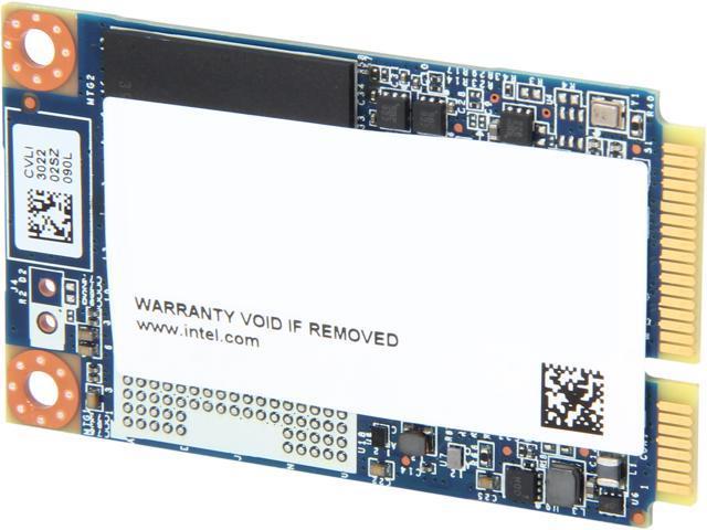 Intel 525 Series Lincoln Crest SSDMCEAC090B301 mSATA 90GB SATA III MLC Internal Solid State Drive (SSD) - OEM