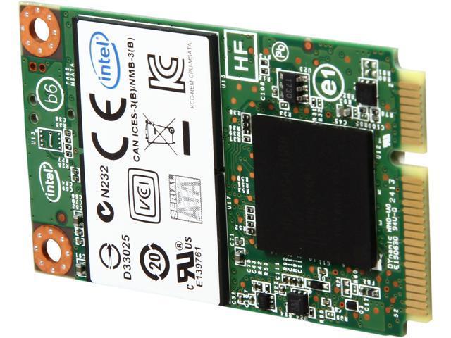 Intel 530 SSDMCEAW180A401 180GB Mini-SATA (mSATA) MLC Internal Solid State Drive (SSD)