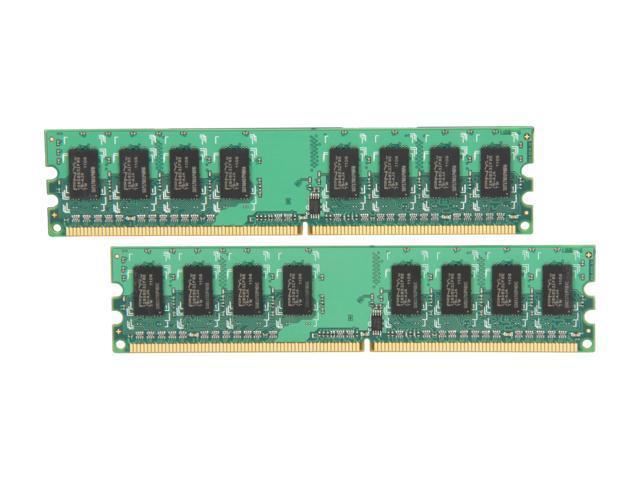 PNY Optima 2GB (2 x 1GB) 240-Pin DDR2 SDRAM DDR2 533 (PC2 4200) Dual Channel Kit Desktop Memory Model MD2048KD2-533
