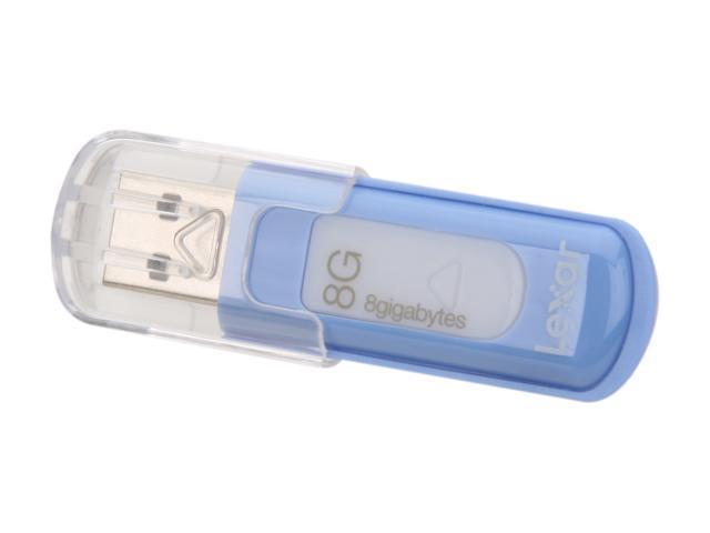 Lexar JumpDrive V10 8GB USB 2.0 Flash Drive Model LJDV10-8GBASBNA
