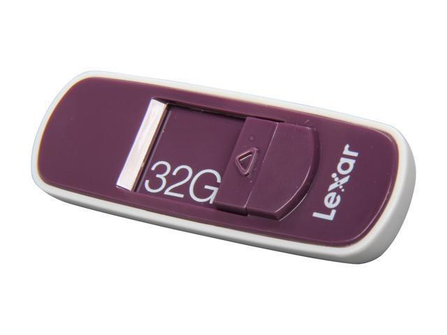 Lexar JumpDrive S70 32GB USB 2.0 Flash Drive (Burgundy) Model LJDS70-32GASBNA
