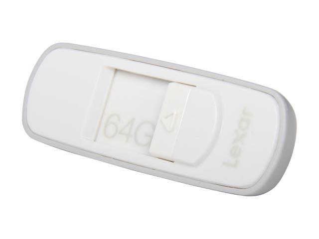 Lexar JumpDrive S70 64GB USB 2.0 Flash Drive (White) Model LJDS70-64GASBNA