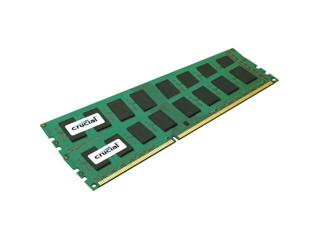 Crucial 16GB (2 x 8GB) 240-Pin DDR2 SDRAM ECC Unbuffered DDR3 1333 (PC3 10600) Server Memory Model CT2KIT102472BD1339