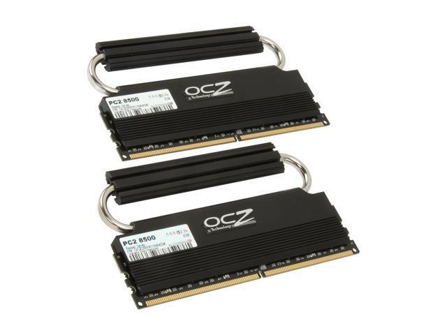 OCZ Reaper HPC 4GB (2 x 2GB) 240-Pin DDR2 SDRAM DDR2 1066 (PC2 8500) Dual Channel Kit Desktop Memory Model OCZ2RPR10664GK