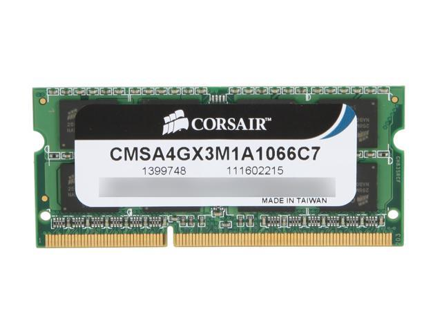 CORSAIR 4GB DDR3 1066 Memory for Apple Model CMSA4GX3M1A1066C7