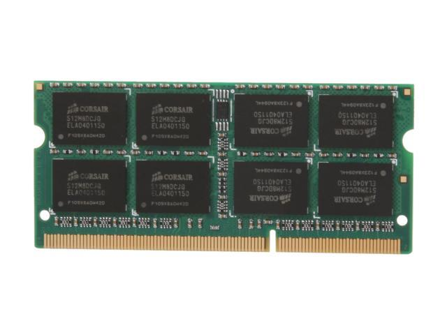 CORSAIR 8GB DDR3 1333 (PC3 10600) Memory for Apple Model CMSA8GX3M1A1333C9