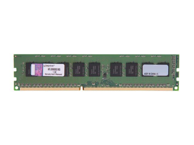 Kingston 8GB 240-Pin DDR3 SDRAM DDR3 1333 (PC3 10600) Server Memory Model KFJ9900E/8G