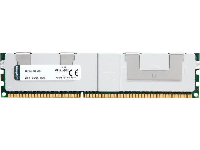 Kingston 240-Pin DDR3 SDRAM ECC DDR3 1333 (PC3 10600) System Specific Memory Model KVR13LL9Q4/32