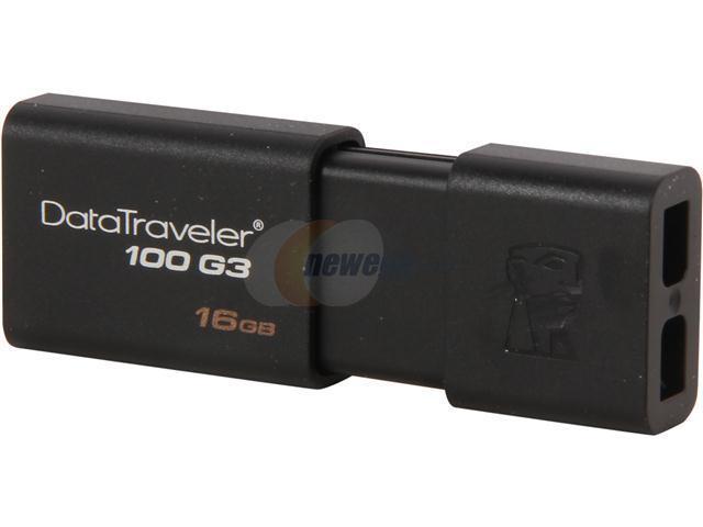 Kingston DataTraveler 100 G3 16GB USB 3.0 Flash Drive Model DT100G3/16GB