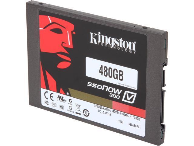 Kingston SSDNow V300 Series SV300S37A/480G 2.5