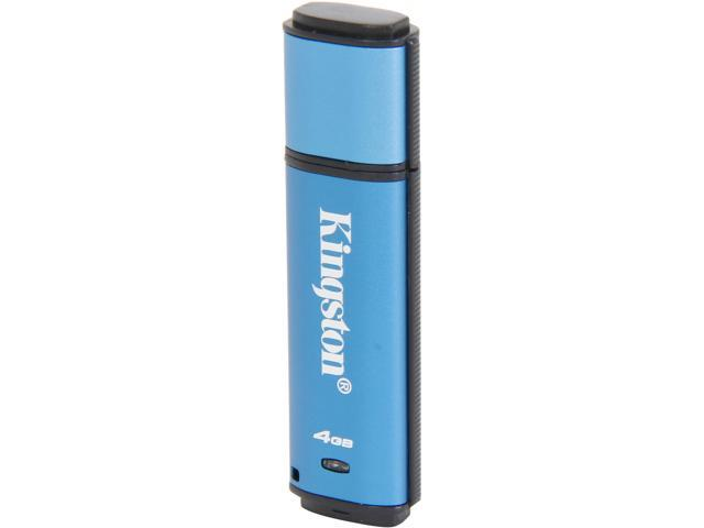 Kingston DataTraveler Vault Privacy 3.0 4GB USB 3.0 Flash Drive 256bit AES Encryption Model DTVP30/4GB