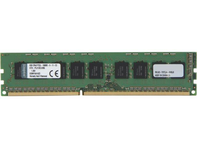 Kingston 8GB ECC DDR3 1333 (PC3 10600) Server Memory Model KTH-PL313ELV/8G