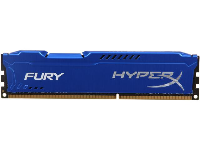 HyperX Fury Series 8GB 240-Pin DDR3 SDRAM DDR3 1333 (PC3 10600) Desktop Memory Model HX313C9F/8