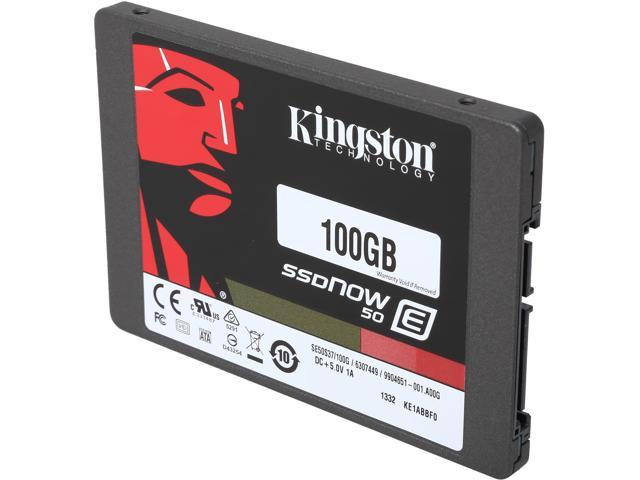 Kingston SSDNow E50 100GB 2.5