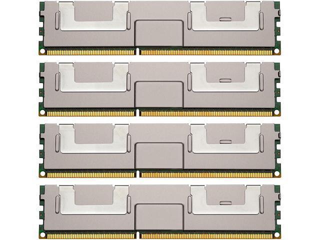 Kingston 128GB (4 x 32GB) 240-Pin DDR3 SDRAM ECC DDR3 1333 (PC3 10600) Server Memory Model KVR13LL9Q4K4/128I