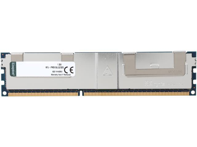 Kingston 32GB 240-Pin DDR3 SDRAM DDR3 1333 (PC3 10600) Quad Rank Low Voltage ModuleModel KFJ-PM313LLQ/32G