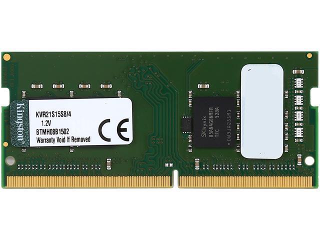 Kingston 4GB 260-Pin DDR4 SO-DIMM DDR4 2133 (PC4 17000) Laptop Memory Model KVR21S15S8/4