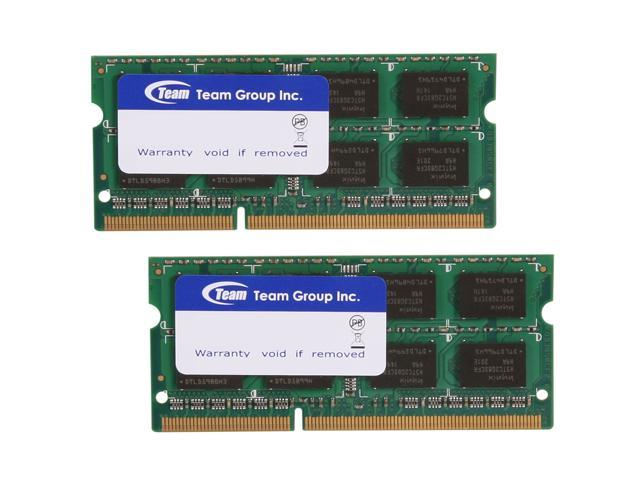 Team 8GB (2 x 4GB) 204-Pin DDR3 SO-DIMM DDR3 1333 Laptop Memory Model TSD38192M1333C9DC-E