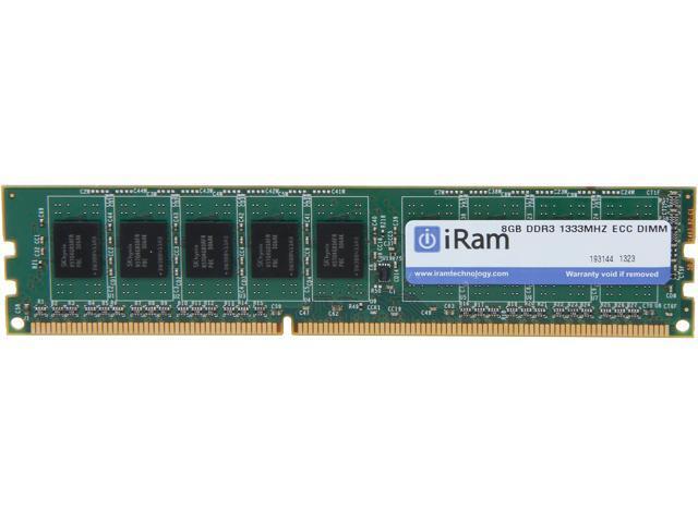 iRam 8GB DDR3 1333 (PC3 10600) ECC Memory for Apple Model IR8GMP1333D3