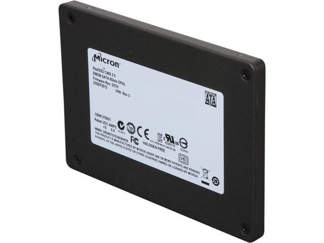 Micron RealSSD C400 (MTFDDAK256MAM-1K12) 256GB SATA III Internal Solid State Drive (SSD)