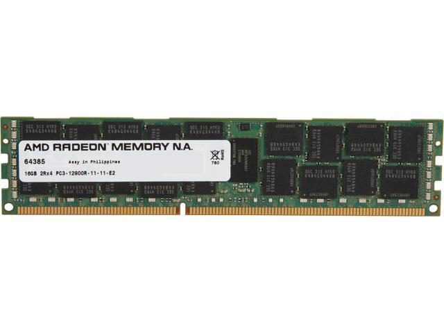AMD Radeon 16GB 240-Pin DDR3 SDRAM ECC Registered DDR3 1600 (PC3 12800) Server Memory For DELL Model ASL1600R/16GB