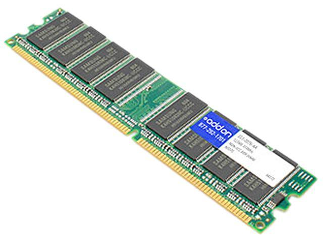 AddOn - Memory Upgrades 512MB 184-Pin DDR SDRAM DDR 333 (PC 2700) Memory for Dell Desktops Model 311-2076-AA