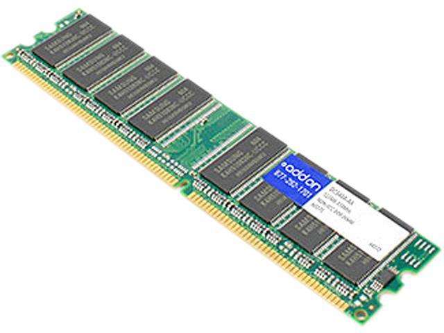 AddOn - Memory Upgrades 512MB 184-Pin DDR SDRAM DDR 333 (PC 2700) Memory Model DC340A-AA