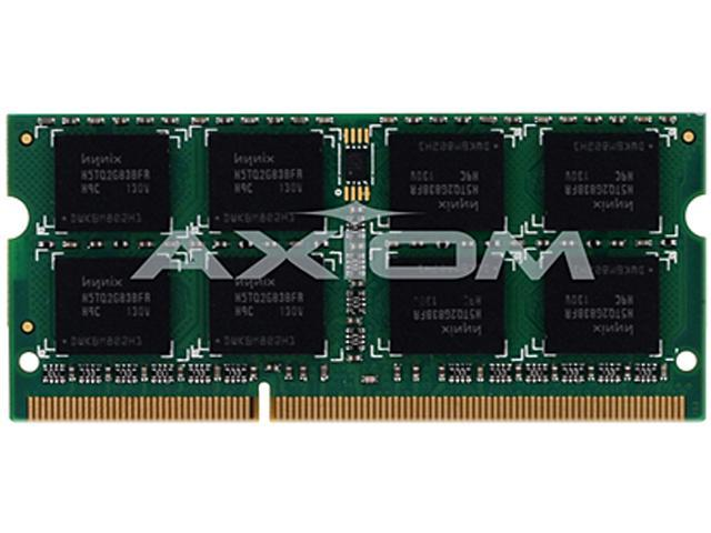 Axiom 2GB 204-Pin DDR3 SO-DIMM DDR3 1333 (PC3 10600) Laptop Memory TAA CompliantModel AXG27592517/1