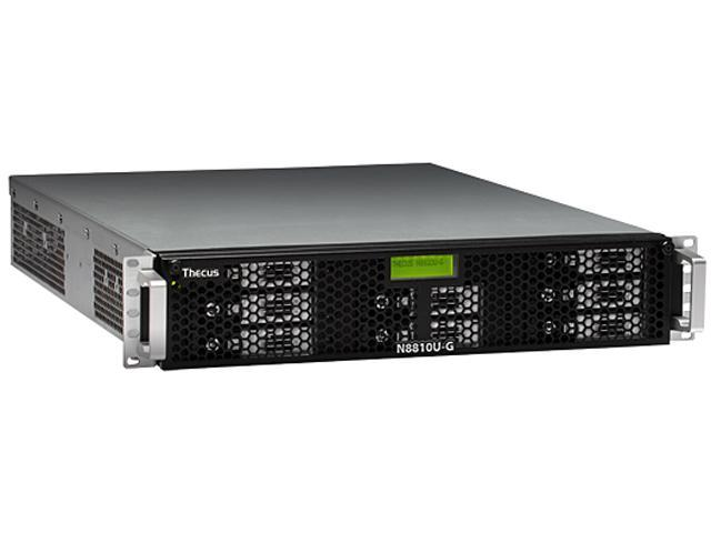 Thecus N8810U-G Diskless System Rackmount Network Storage