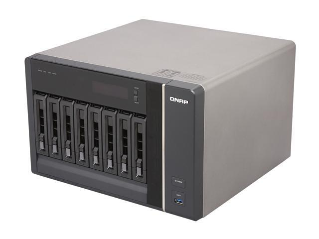 QNAP TS-879-PRO-US Diskless System Network Storage
