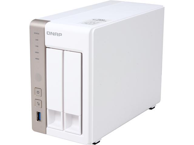 QNAP TS-251-4G-US Diskless System Network Storage