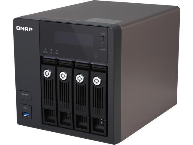 QNAP TS-453-PRO-US 3TB 4-Bay Professional-Grade NAS