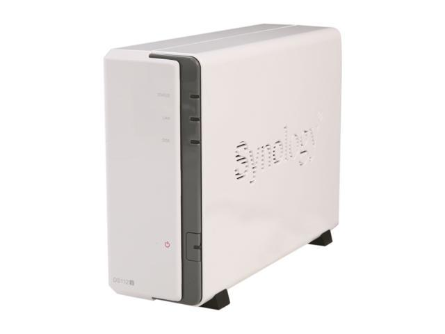 Synology DS112j Diskless System Budget-friendly 1-bay NAS server for Home Users