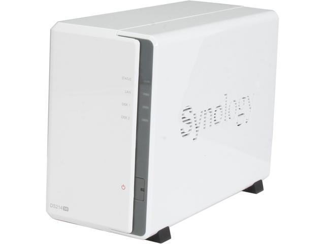 Synology DS214se 2200 4TB (2 x 2TB) Network Storage