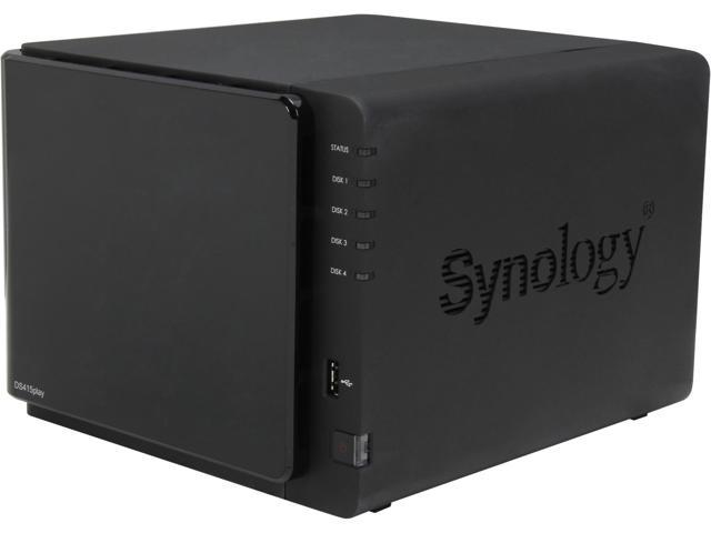 Synology DS415play Diskless System Network Storage