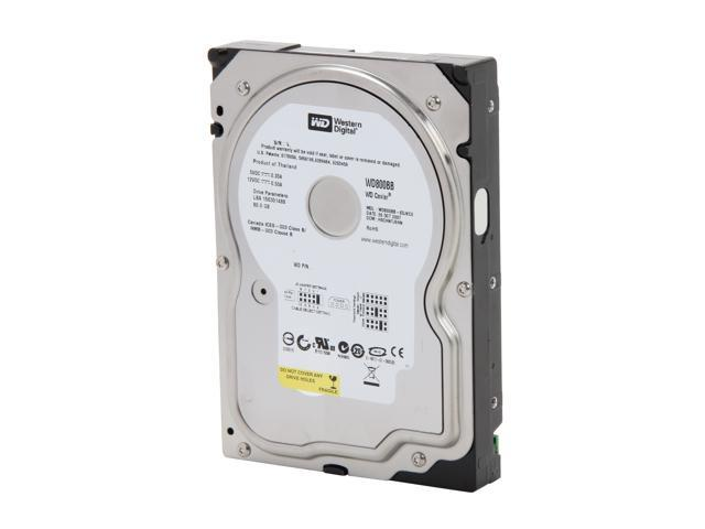 Western Digital WD Blue WD800BB 80GB 7200 RPM 2MB Cache IDE Ultra ATA100 / ATA-6 3.5
