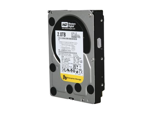 "Western Digital WD RE4-GP WD2002FYPS 2TB 64MB Cache SATA 3.0Gb/s 3.5"" Hard Drive Bare Drive"