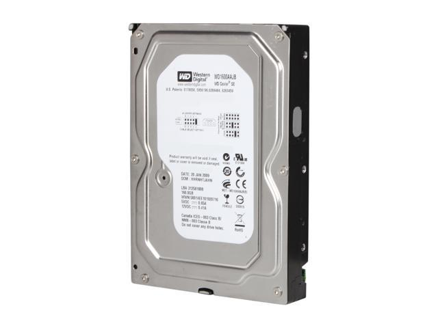 WD WD Blue WD1600AAJB 160GB 7200 RPM 8MB Cache IDE Ultra ATA100 / ATA-6 3.5