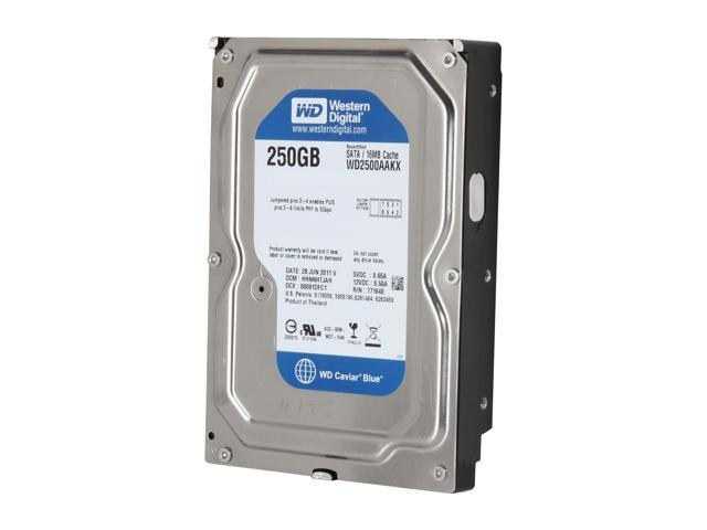 WD WD Blue WD2500AAKX 250GB 7200 RPM 16MB Cache SATA 6.0Gb/s 3.5