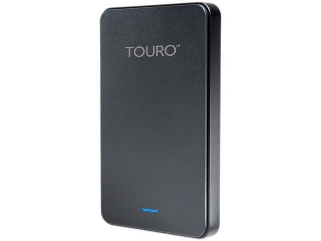 HGST 1TB Touro Mobile External Hard Drive USB 3.0 Model HTOLMX3NA10001ABB(0S03454) Black