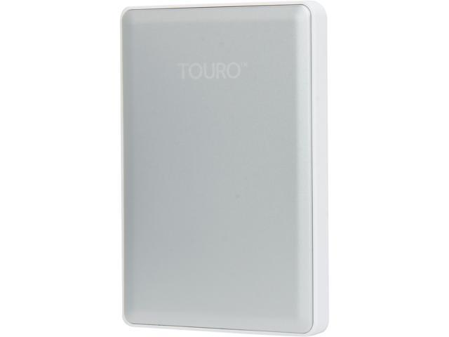 HGST TOURO S 1TB USB 3.0 High-Performance Ultra-Portable Drive 0S03729(HTOSPA10001BDB) Silver