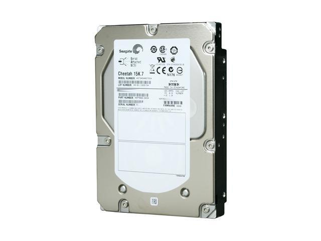 "Seagate Cheetah 15K.7 ST3450857SS 450GB 15000 RPM 16MB Cache SAS 6Gb/s 3.5"" Internal Enterprise Hard Drive Bare Drive"