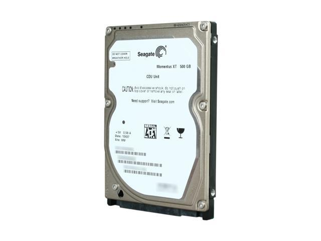 Seagate Momentus XT ST95005620AS 500GB 7200 RPM 32MB Cache SATA 3.0Gb/s with NCQ 2.5