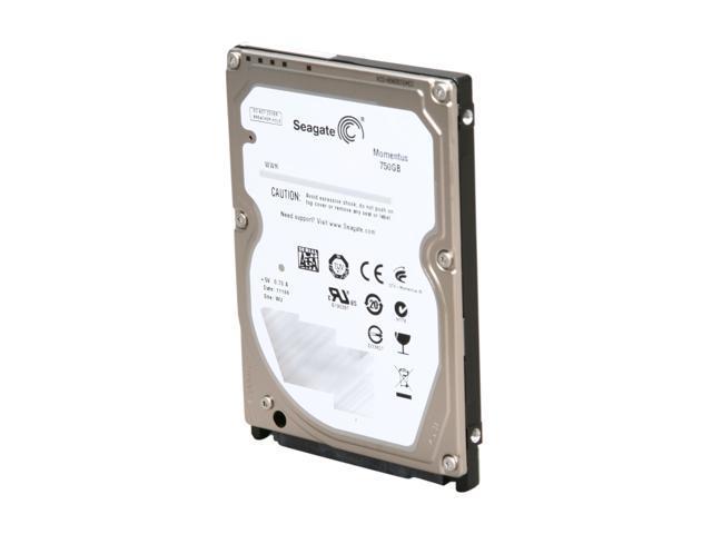 Seagate Momentus ST9750420AS 750GB 7200 RPM 16MB Cache SATA 3.0Gb/s 2.5