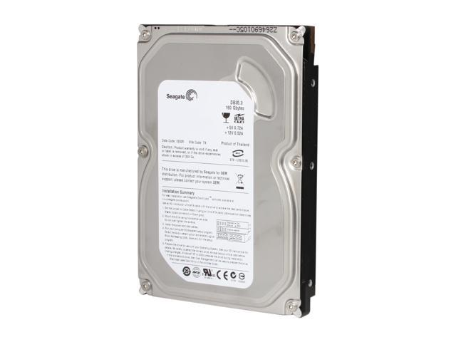 Seagate DB35 Series 7200.3 ST3160215ACE 160GB 7200 RPM 2MB Cache IDE Ultra ATA100 / ATA-6 3.5