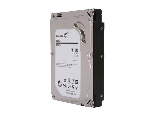 Seagate SV35.6 ST2000VX000 2TB 7200 RPM 64MB Cache SATA 6.0Gb/s 3.5